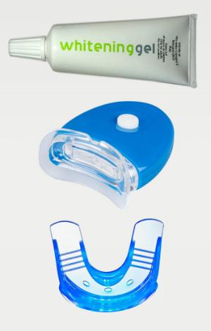 x whitening kit sbiancante led